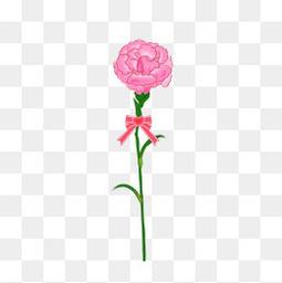 母親節鮮花元素