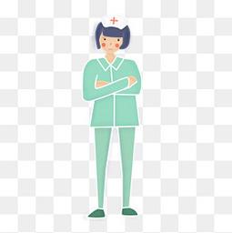 国际护士节绿色护士服