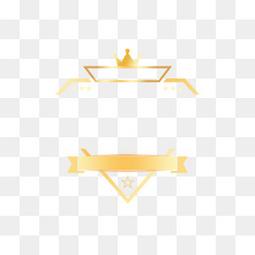 电商金色发光砖石皇冠