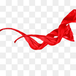 红色丝带,红色飘带