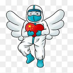 天使医护人员防护服
