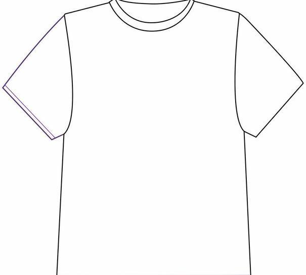 服装设计 广告设计 矢量 ai 白色 【本作品下载内容为: 白色t恤模板