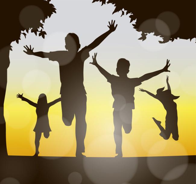 搜图中国提供独家原创玩耍儿童剪影下载,此素材图片已被下载708次,被