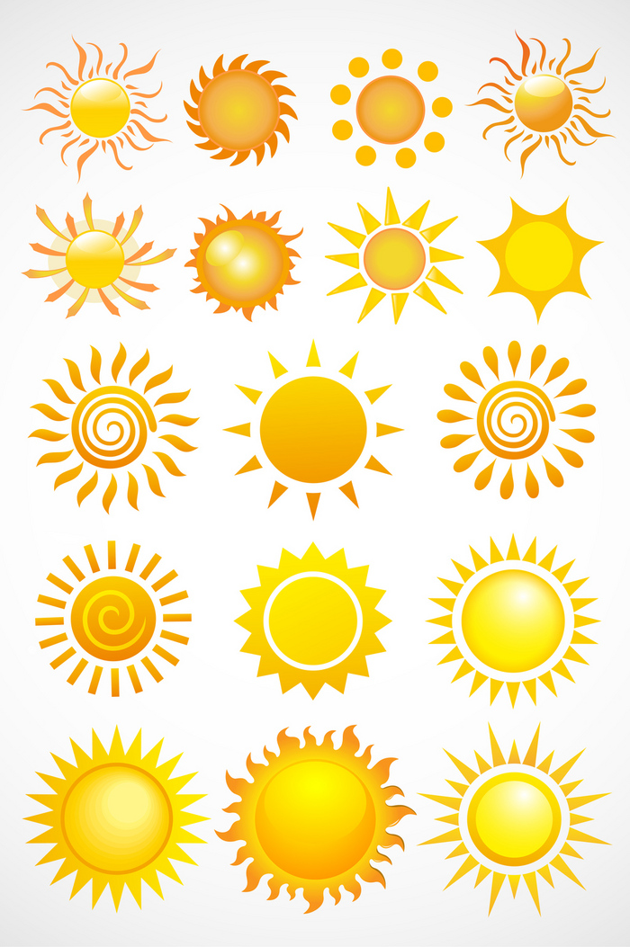 搜图中国提供独家原创太阳太阳元素矢量图标 下载,此素材图片已被下载