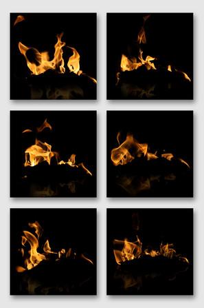 火焰烈焰效果素材