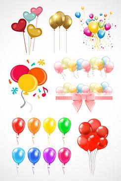 彩色创意活动气球素材